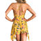 Womens Summer Sexy Halter Neck Backless Floral Print Romper Playsuit Jumpsuit Short Beach Dress Sundress