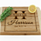 Personalized Bamboo Bar Board with Rounded Edges in 11 Styles