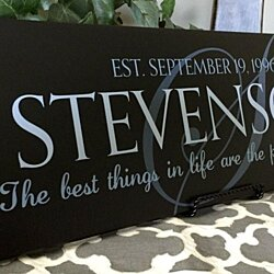 Personalized Family Wall Signs