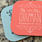 Personalized Designer Coasters - Set of 2