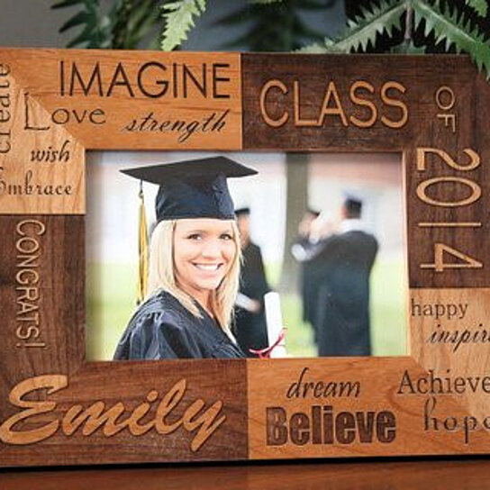 buy personalized graduation photo frames by qualtry on opensky