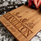 Personalized Handled Serving Boards Available in 8 Designs