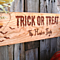 Personalized Happy Halloween House Signs