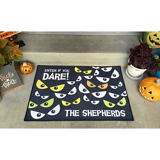Buy Personalized Large Halloween Door Mats by Qualtry on  ~ 004814_Large Halloween Doormats
