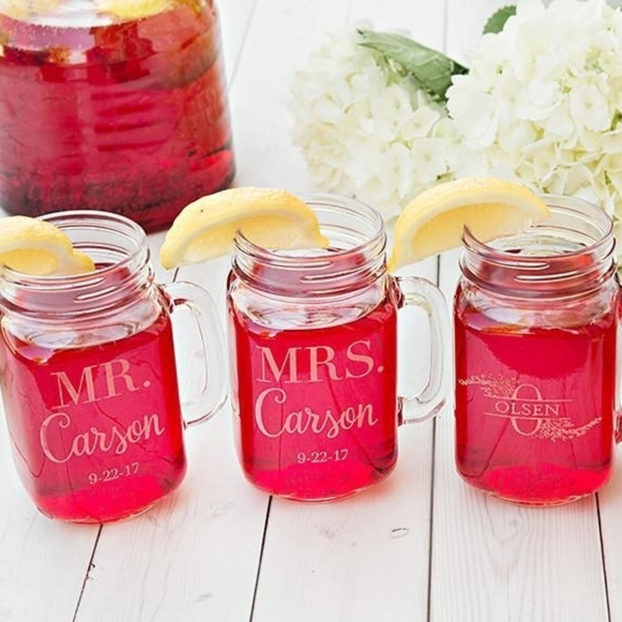 Personalized Mason Jar Mugs - Brock 5984e959f486b70a921694ae