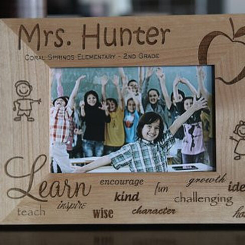 Buy personalized teacher photo frames by qualtry on opensky for American frame coupon