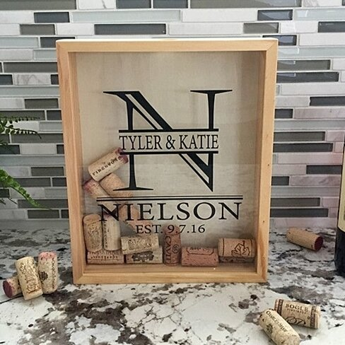 Personalized Wine Cork Keeper