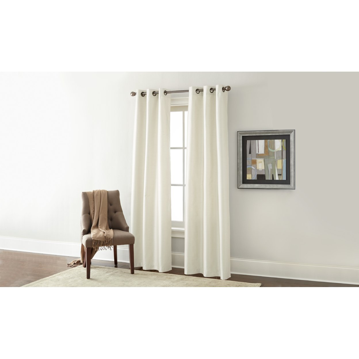 """2 Pack Black Out Curtains 96\"""" Length"""