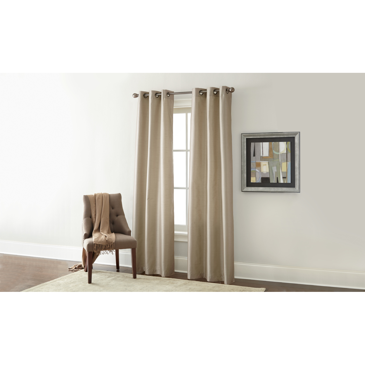 2 Pack Black Out Curtains
