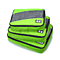 3Pcs/Set Breathable Travel Bag Luggage Packing Organizers With Shoe Bag Carry Suitcase