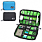 Electronic Accessories Travel Bag Nylon Mens Travel Organizer SD Card USB Cable Digital Device Bag