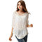 Vintage Shirts Hollow Out Women Tops And Blouse Casual Beach