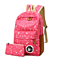 Women Canvas Backpack School Bags Teenagers Backpacks