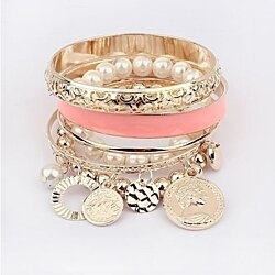Fashion Pearl Multilayer AngelSale  Bracelet