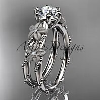 Diamond flower engagement ring ADLR66OSY
