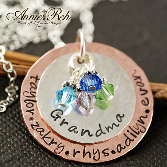 Buy Hand Stamped Necklace Grandma Necklace