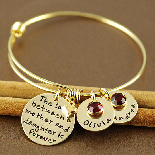 bangles bangle zodiac front alex and initials army charm ani collections u s jewelry birthstones personalized