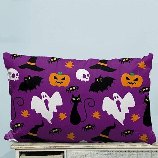 Buy Funny Hallowen Time Ghost Pumpkin Halloween Pillow