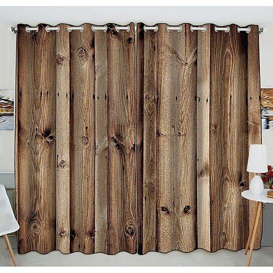 Buy Vintage Rustic Knotty Old Barn Wood Window Curtain Kitchen Curtain Size 52 W X 84 Inches Two Piece By Ann Pekin Pekin On Dot Bo