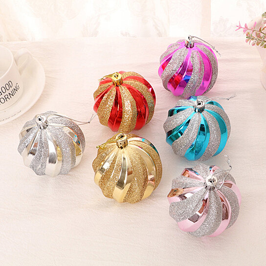 12Pcs Christmas Baubles Ball Party Wedding Tree Hanging Ornament Xmas Decoration