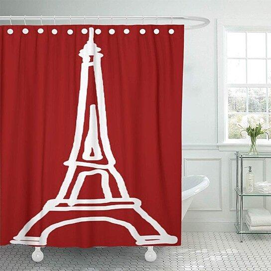Buy France Red and Blue Paris Eiffel Tower Tour Romantic ...