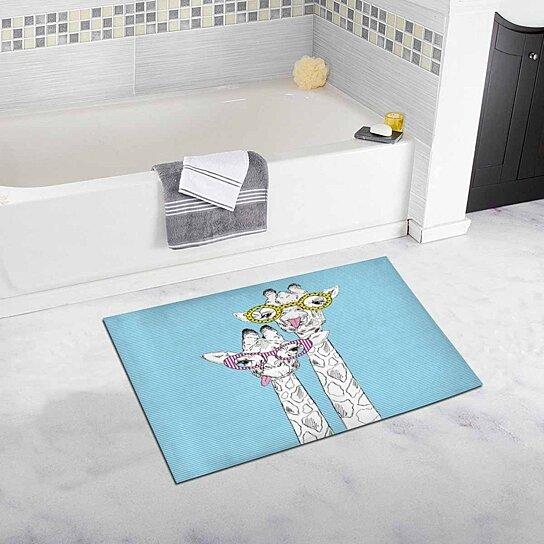 Bath Rug Bathroom Mat Doormat 30x18