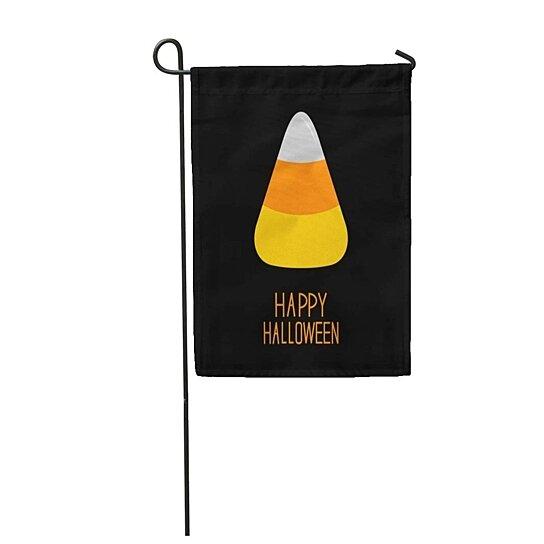Buy Orange Cartoon Candy Corn Happy Halloween Flat Yellow Baby Garden Flag Decorative Flag House Banner 28x40 Inch By Wallis Flora On Dot Bo