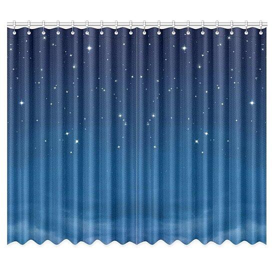 Stars In The Night Sky Window