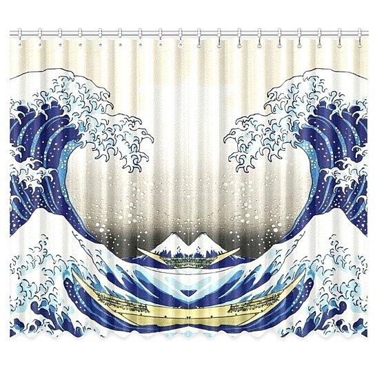 The Great Wave Off Kanagawa Window