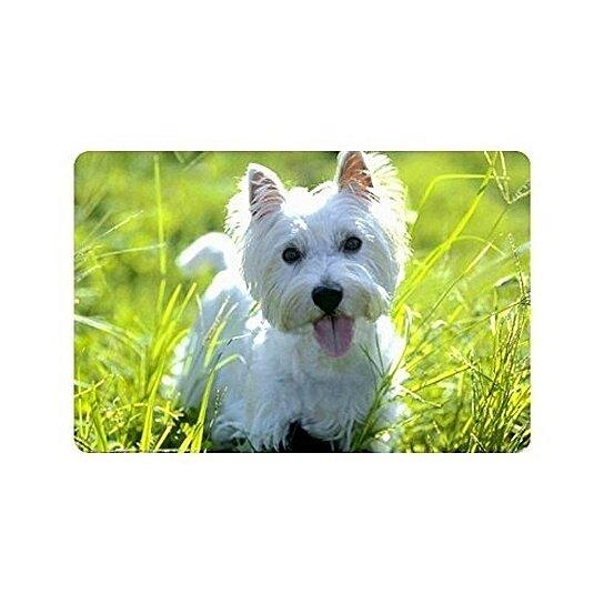 West Highland Terrier Dog Puppy Doormat