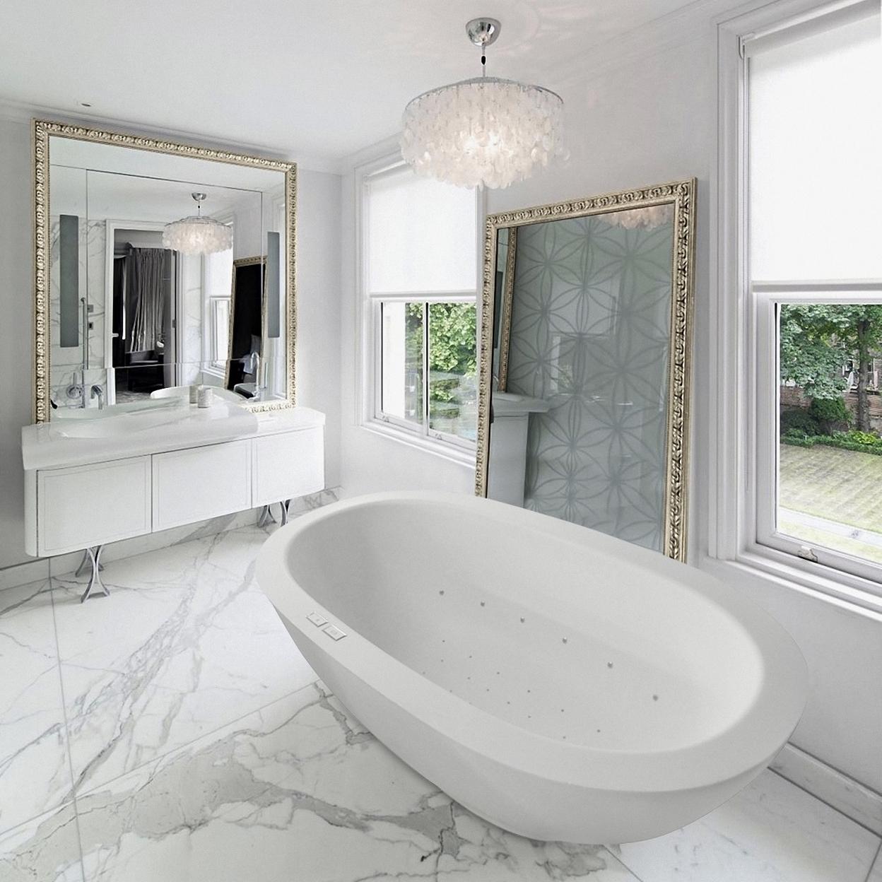 Karolina Relax Stone Air Massage Bathtub - Fine Matte 56f30cbe923d6ff05a8b4a27