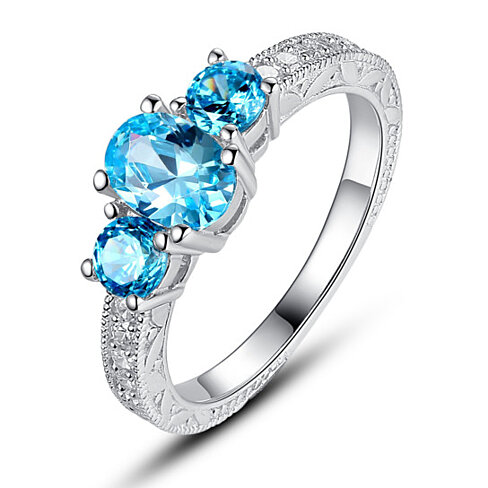 Buy Sterling Silver 3stone Ocean Blue Cubic Zirconia. 18k Bangles. Meaning Bracelet. March Bracelet. Infinity Mens Wedding Band. Bow Rings. Tattoo Wedding Rings. Brownish Yellow Diamond. Gentleman Watches