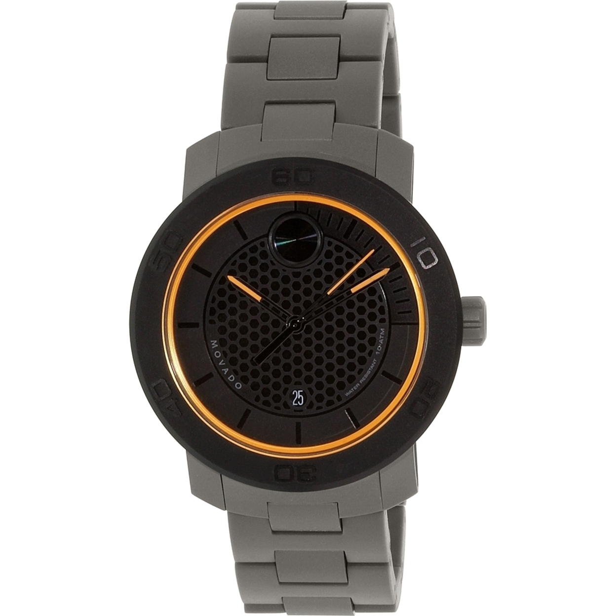 Men S Watches Movado Men S Bold 3600098 Grey Stainless