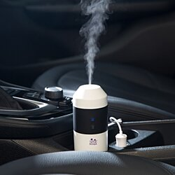 Electric Car/Indoor Essential Oil Diffuser, Humidifier & Purifier