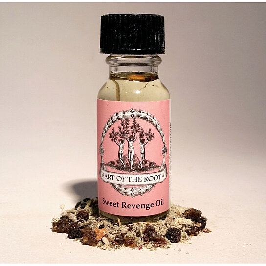 Sweet Revenge Oil for Hoodoo, Voodoo, Pagan & Wiccan Rituals