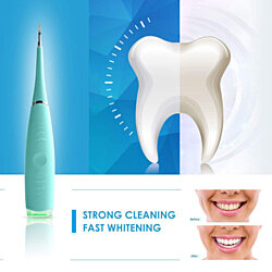 Household Teeth Cleaning Device Electric Dental Calculus Remover Stainless Steel Tartar Scraper Tartar Remover