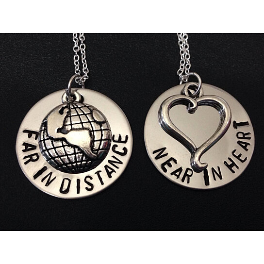 long distance relationship couples jewelry at walmart
