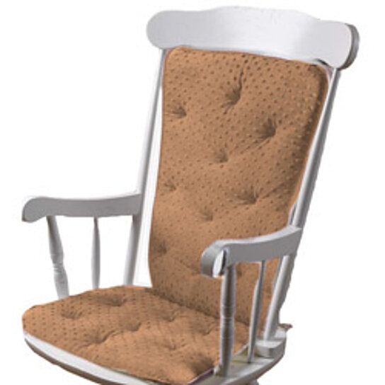 Buy Minky Dot Rocking Chair Cushion by Baby Kids Bargains on OpenSky
