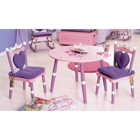 Buy Princess Table And Chairs Set By Baby Kids Bargains On