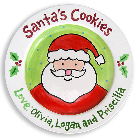 Buy Cookies For Santa Plate By Babybox On Opensky