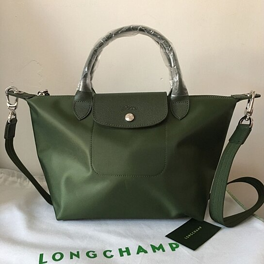 88be12e0ddc0 Buy France Made Longchamp Le Pliage Neo Small Handbag Moss Green 1512578749  by bagshop on OpenSky