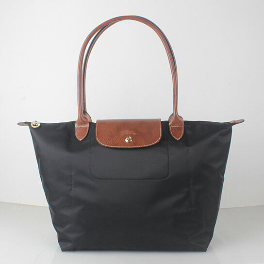 Longchamp Le Pliage Large Nylon Tote Bag Black 1899089001 Auth France Made By On Opensky