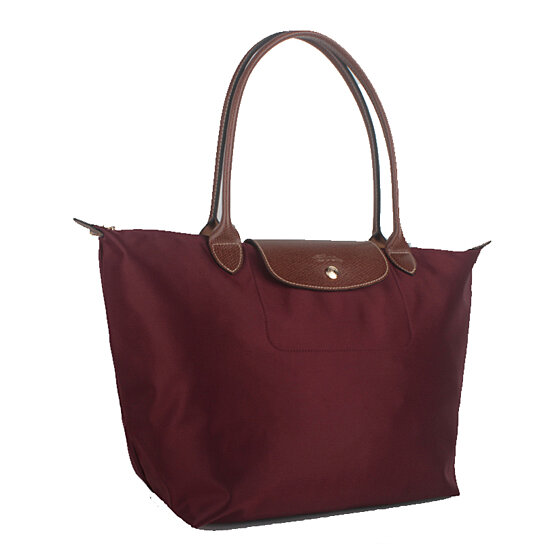 Buy Longchamp Le Pliage Large Nylon Tote Bag Wine 1899089009 Auth France  Made by bagshop on OpenSky 4edc1f2fdd6b9