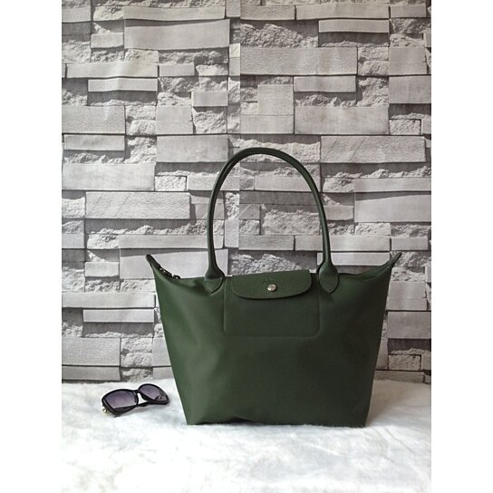 8b33e241183ae Trending product! This item has been added to cart 27 times in the last 24  hours. Longchamp Le Pliage Neo Large Tote Bag Moss Green 1899578749.  Longchamp ...