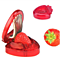 1Pc Strawberry Berry Stem Gem Leaves Remover Fruit Corer Slicer Cutter Split