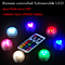 3pcs/Remote control full color waterproof light