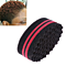 Double Sided Barber Hair Brush Sponge Dreads Locking Twists Coil Curl Wave