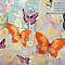 Floral Butterfly Sheer Curtains Sheers Voile Tulle Window Curtain
