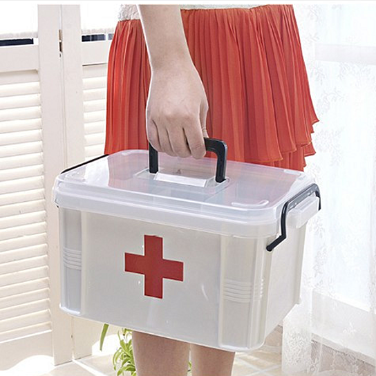 Buy Household Items Medicine Box / Medical First Aid Kit / Outdoor Storage  Box / Household Plastic Kits By Balabala Shop On OpenSky