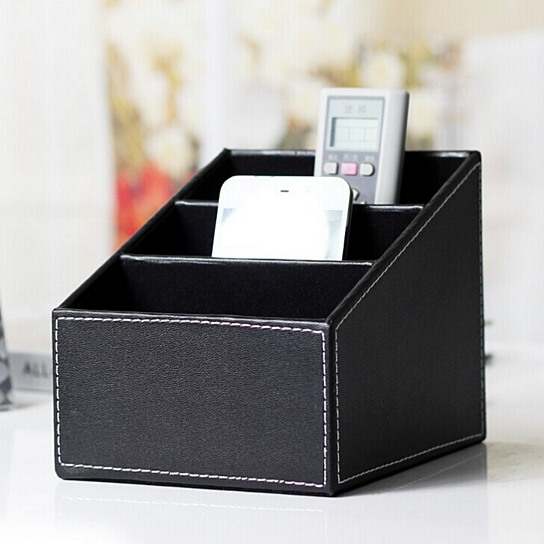 Buy Leather Storage Box / Remote Control Storage Box / DIY Storage Box / Storage  Box Creative Pu By Balabala Shop On OpenSky
